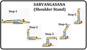 Benefits of Sarvangasana